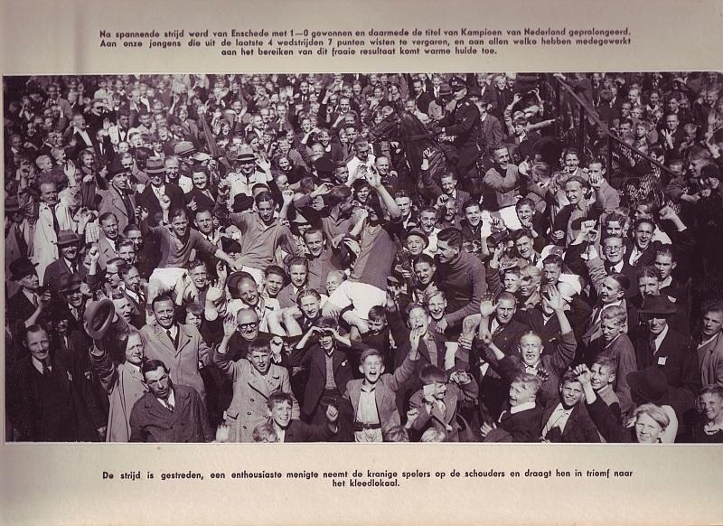 Fotoboek van ADO 2de Kampioenschap 1942-1943
