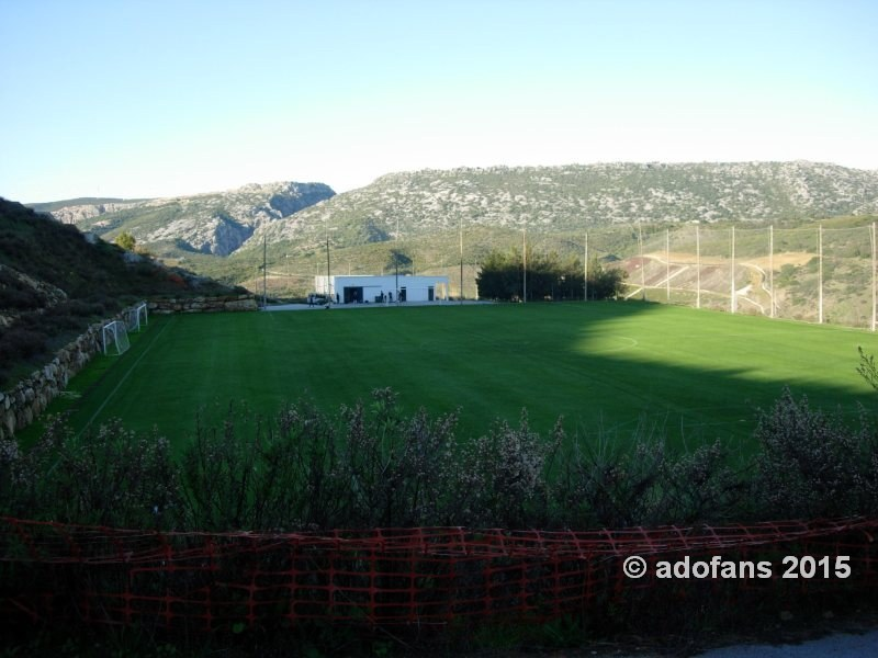 trainingskamp ADO Den Haag te Estepona