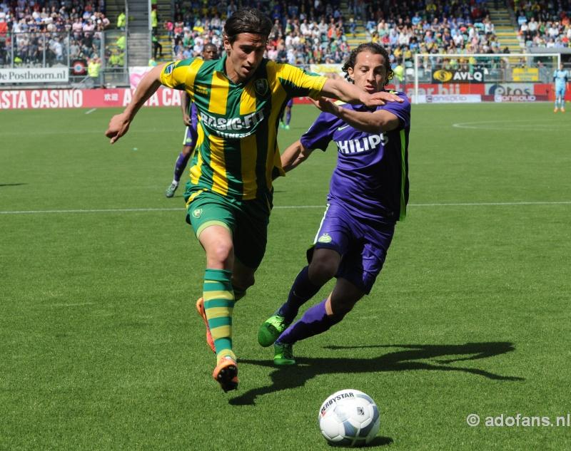 ADO Den Haag verliest nipt van PSV