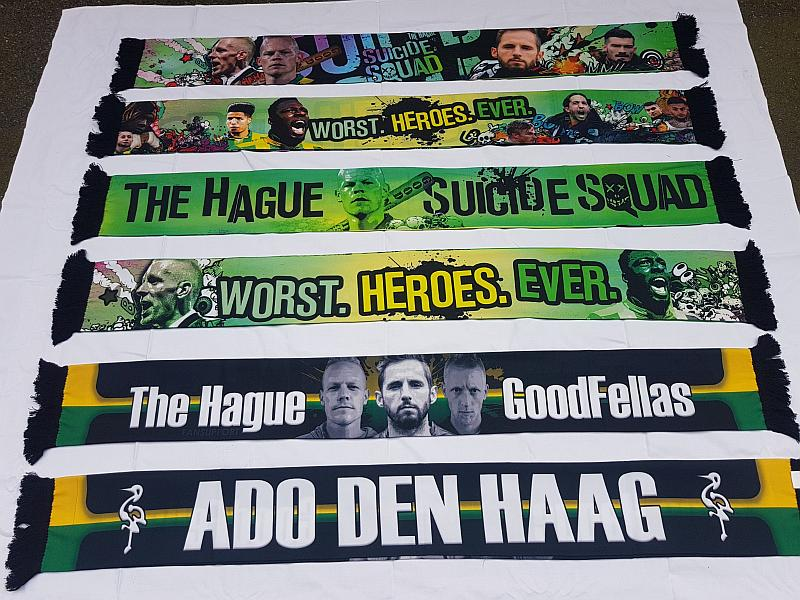 sjaaltjes Fan Support , ADO Den Haag, The Hague GoodFellas