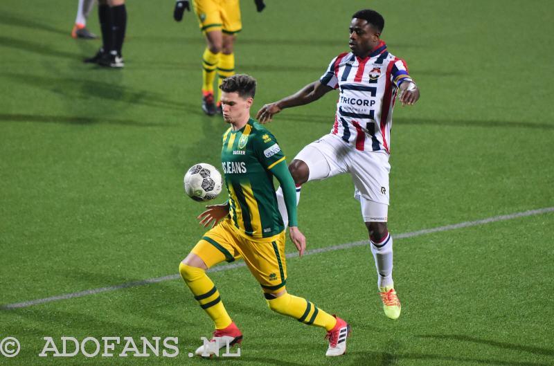 Ado   Willem Ii: Verslag En Foto's: ADO Wint Van Willem II Door Penalty In