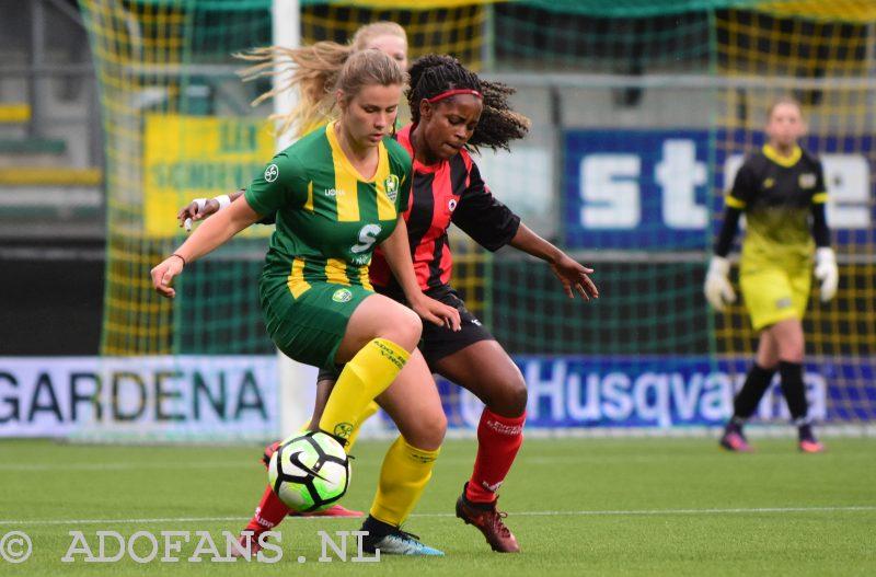 Vrouwenvoetbal: ADO Den Haag wint van Excelsior Barendrecht