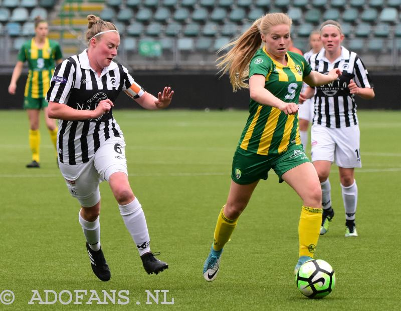 Vrouwenvoetbal: verslag en foto