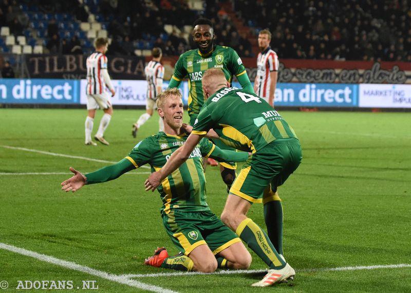 Foto`s en verslag ADO Den Haag verslaat Willem II met 0-3