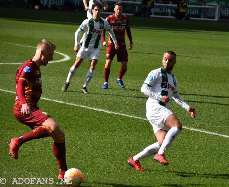 Foto`s en verslag ADO letterlijk kansloos tegen FC Groningen: 1-0