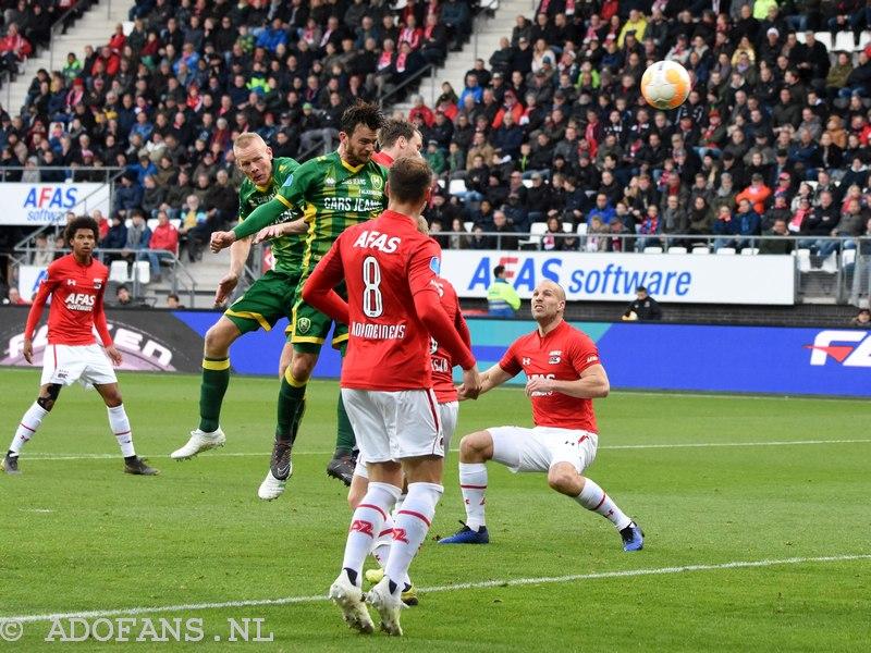 Verslag en foto`s ADO Den Haag speelt zich veilig in Alkmaar: 2-3