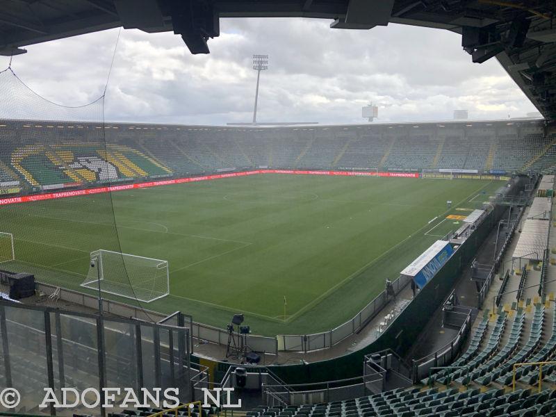 Verslag:  ADO Den Haag verliest met man meer van Vitesse: 0-2