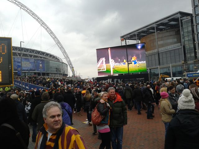 Bradford City - Swansea City (Cupfinal)