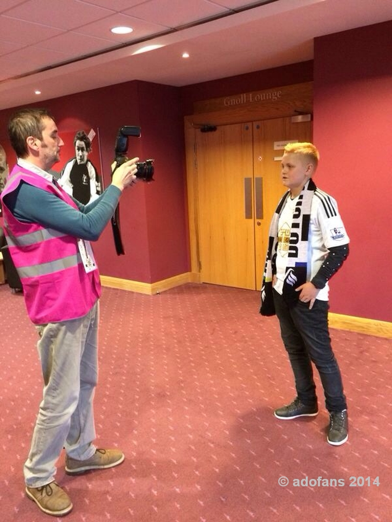 Ricky Spaans visit: Swansea City - Leicester City