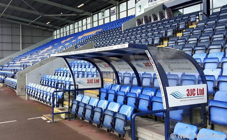 ADOfans visit: Shrewsbury Town FC, 'the Greenhous Meadow'